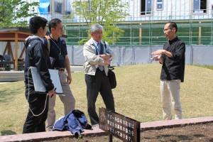 オンサイト計画設計事務所代表取締役の長谷川浩己さん(写真右)